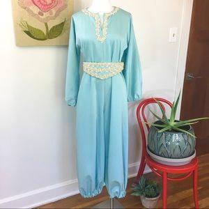 Vintage 60's Polyester Genie Costume